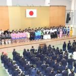 県大会に出場する部活は9つ、 百名を超える生徒に声援をお願いします。